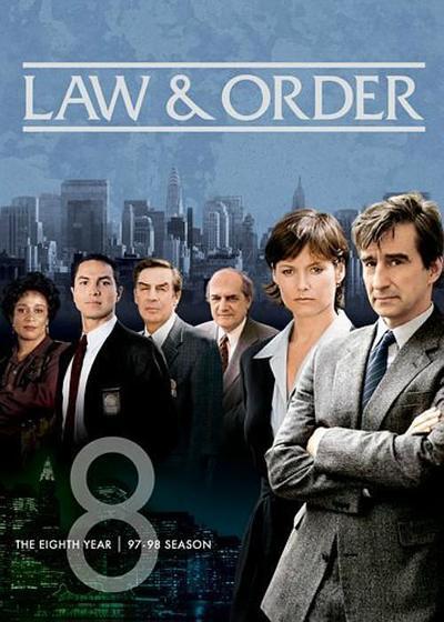 法律与秩序 第八季海报