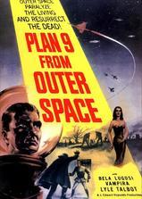 外太空计划9海报