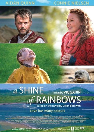 彩虹照耀海报