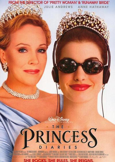 公主日记海报
