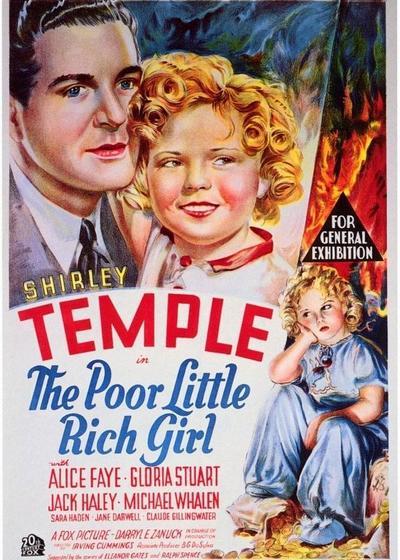 可怜的富家小姑娘海报