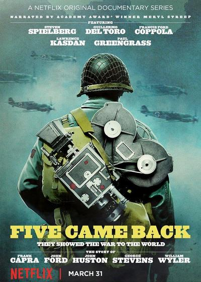 五人归来:好莱坞与第二次世界大战海报