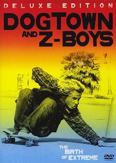 狗镇和滑板少年海报