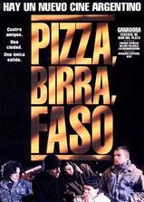 比萨,啤酒与香烟海报