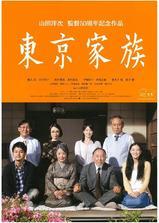 东京家族海报