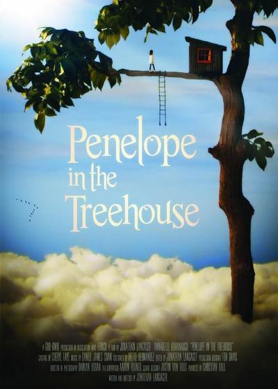 树屋里的女孩海报