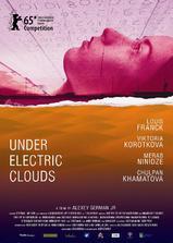 电子云层下海报