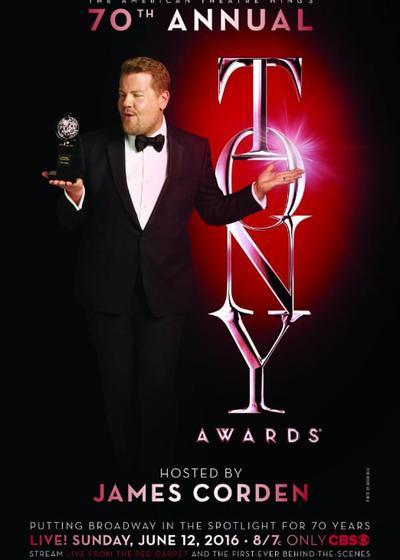 第70届托尼奖颁奖典礼海报