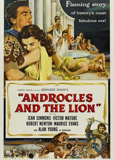 安德鲁克里斯和狮子海报