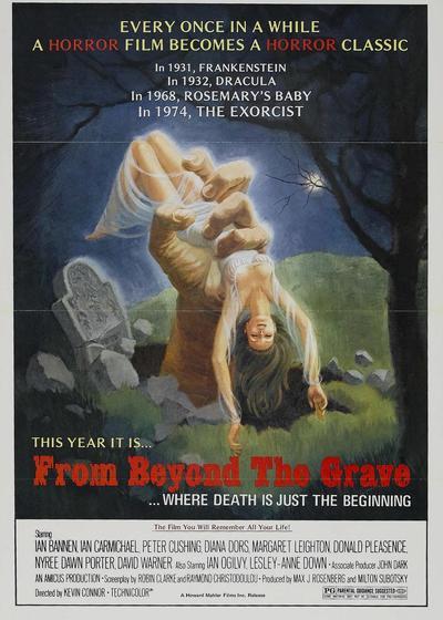 墓地鬼话海报