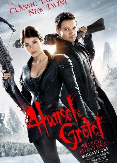 韩赛尔与格蕾特:女巫猎人海报