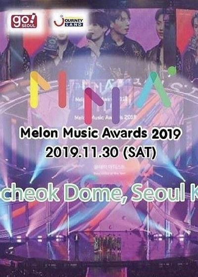 2019 Melon Music Award海报