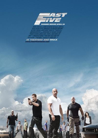 速度与激情5海报