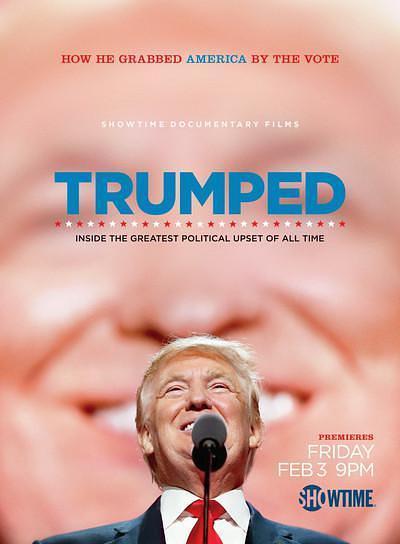 特朗普:如何成为美国最招黑的政治家海报