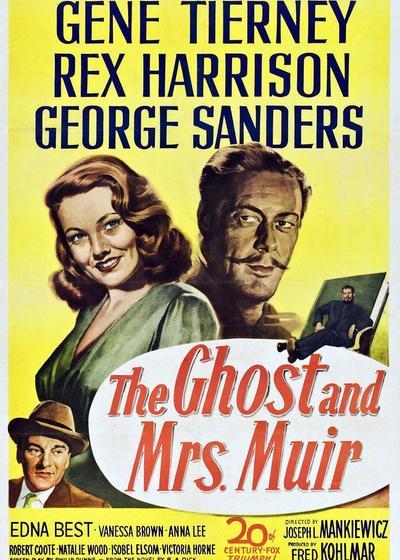 幽灵与未亡人海报