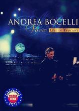 Andrea Bocelli 2007意大利托斯卡纳演唱会海报
