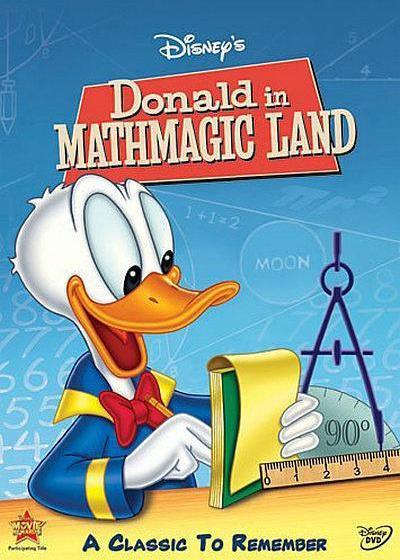唐老鸭漫游数学奇境海报