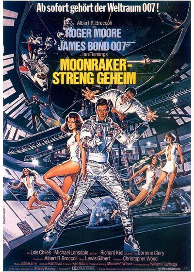 007之太空城海报