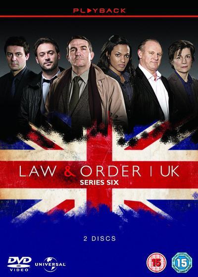 法律与秩序(英版) 第六季海报