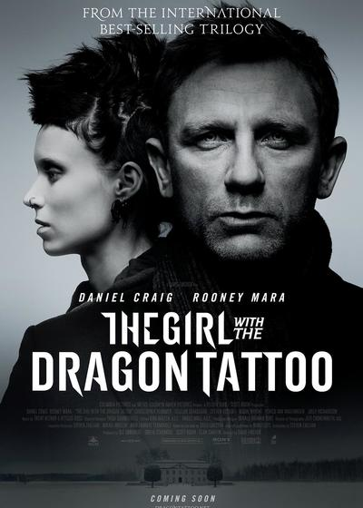 龙纹身的女孩海报