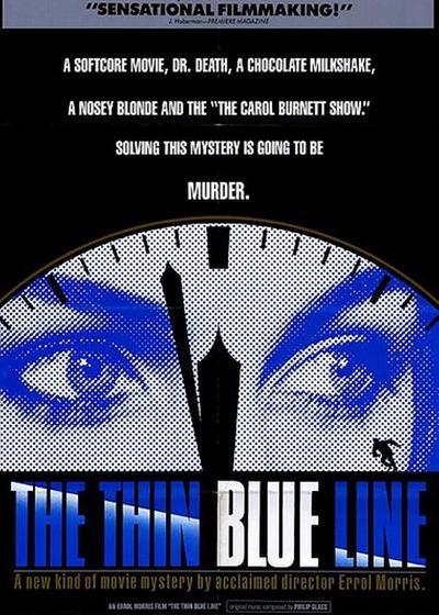 细细的蓝线海报