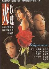 火玫瑰海报