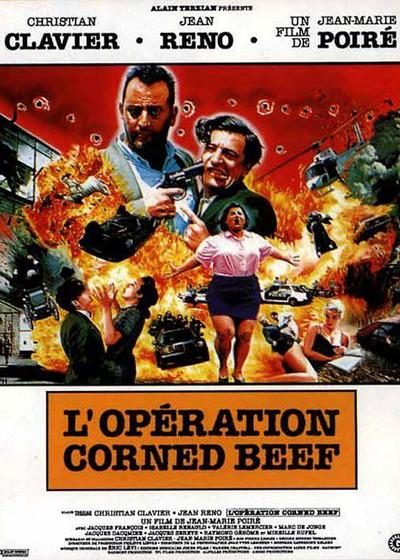 咸牛肉行动海报