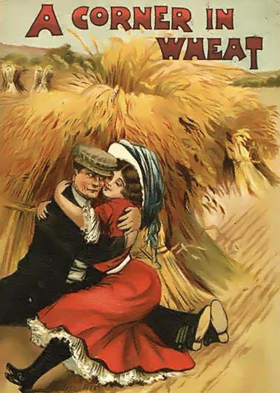 小麦的囤积海报