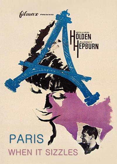 巴黎假期海报