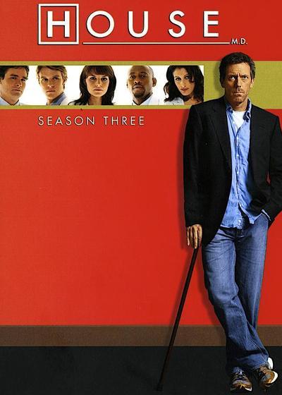 豪斯医生  第三季海报