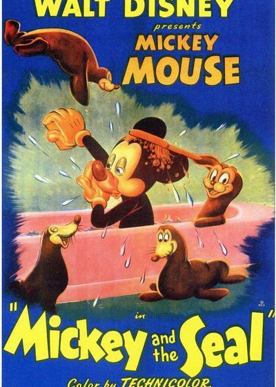 米奇和海豹海报