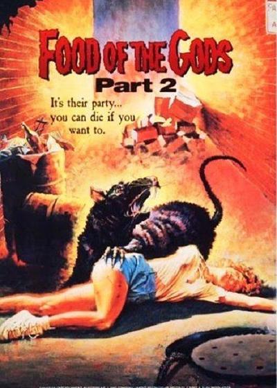 猛鼠食人城2海报