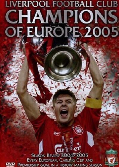 利物浦2005欧洲冠军杯决赛之路海报