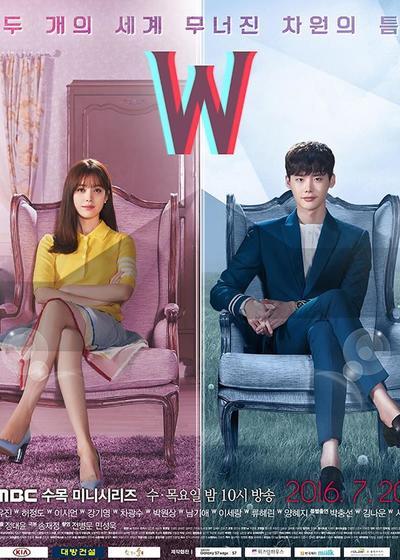 W-两个世界海报