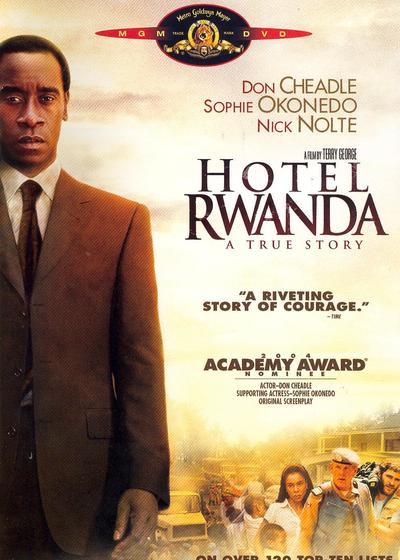 卢旺达饭店海报
