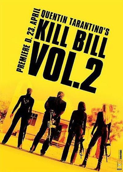 杀死比尔2海报