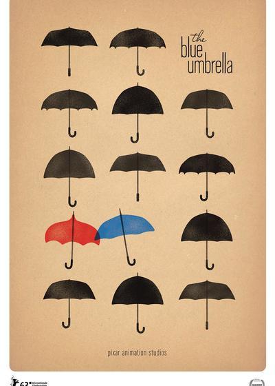蓝雨伞之恋海报