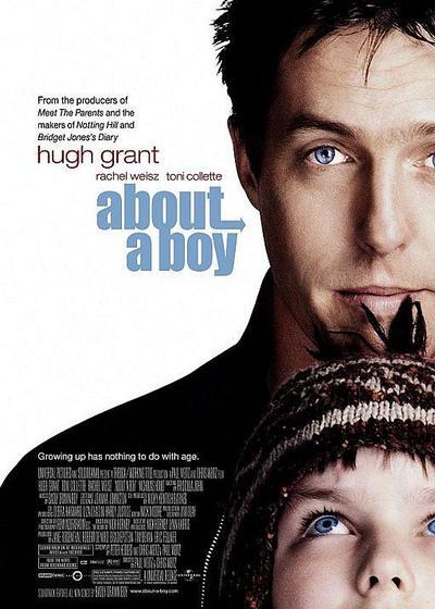 关于一个男孩海报
