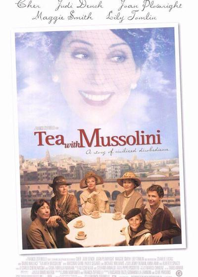 与墨索里尼喝茶海报