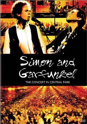 西蒙和加芬克尔:中央公园演唱会海报