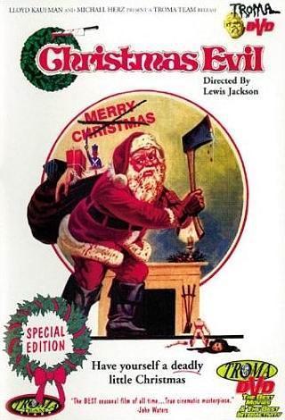 圣诞恶魔海报