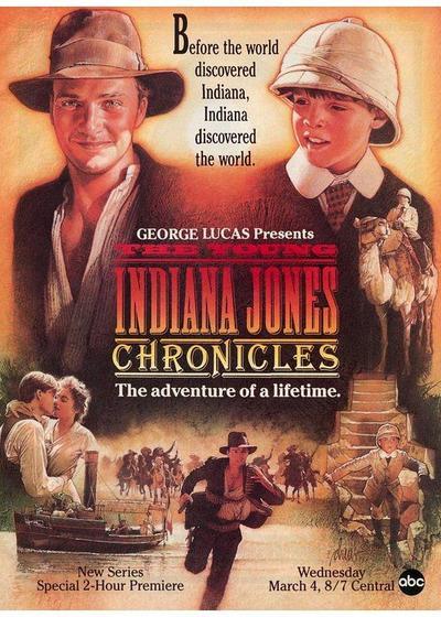 少年印第安纳琼斯大冒险 第一季海报