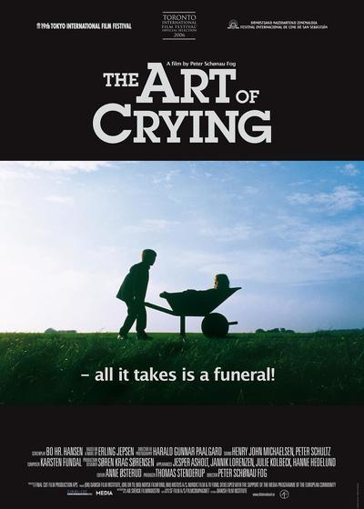 哭泣的艺术海报