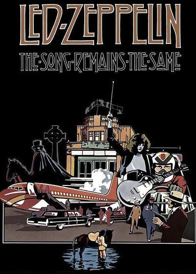 永远的齐柏林飞船海报
