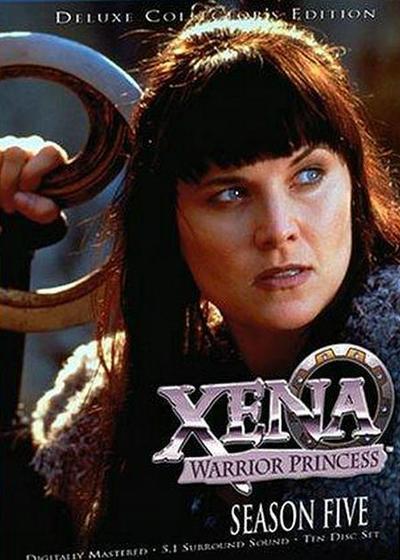 战士公主西娜 第五季海报