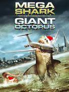 巨鲨大战食人鳄