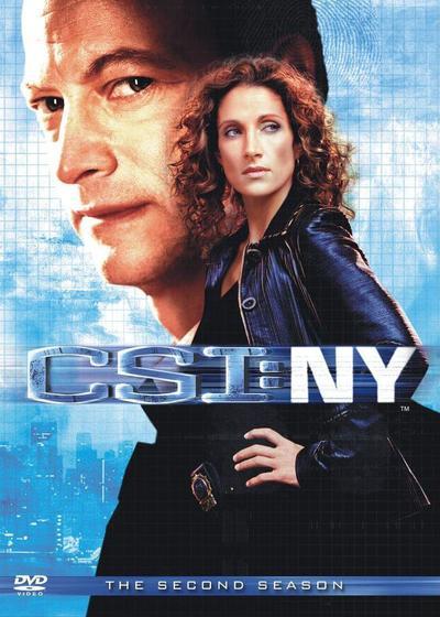 犯罪现场调查:纽约 第二季海报