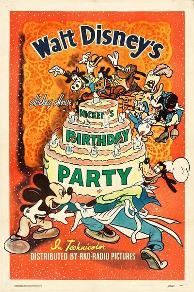 米奇的生日派对