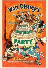 米奇的生日派对海报