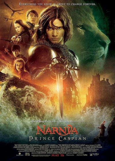 纳尼亚传奇2:凯斯宾王子海报